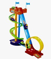 And Retails Roller Coaster Car Play Set (Multicolor)