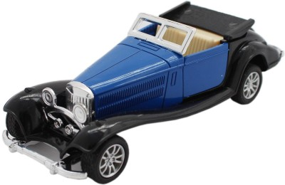 Tootpado Cars, Trains & Bikes Tootpado Vintage Metal Open Top Toy Car With Pull Back Mechanism Playing For Kids