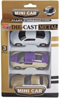 Just Toyz Die Cast Cars Gift Set Of 3 Toy Cars (Multi)