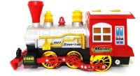 E-Toys Battery Operated Motion Train With Light And Music (Red, Yellow)
