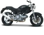 Maisto Cars, Trains & Bikes Maisto 1:18 Ducati Monster Dark Diecast Motorcycle