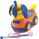 Lovely Push & Pull Along Lovely Elephant Xylophone