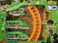 Shopat7 Ben 10 Rail Set (Multicolor)