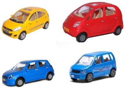 A R ENTERPRISES I 10, NANO, WAGON-R AND SWIFT -COMBO OF 4 CARS (MULTICOLOR)