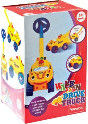 Funskool Walk And Drive Truck (Multicolor)