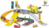 Toys Bhoomi Modern City Parking Lot Garage Play Set (Multi)