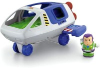 Fisher-Price Little People Disneys Toy Story Buzz Lightyear Space Ship (Multicolor)