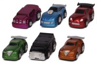 Smart Picks Pack Of 6 Drift Cars (Multicolor)