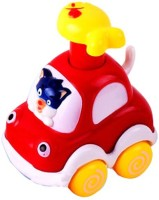 Smart Picks Honest Cow Forest Animal Car (Multicolor)