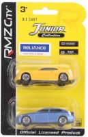 RMZ City Chevrolet Camaro And BMW M5 Car Toys Yellow And Blue - Pack Of 2 (Yellow, Blue)