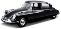 Bburago Citroen DS19 1/32 Diecast Scale Model Car (Black)