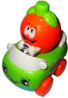 Smart Picks Orange Stunt Car (Multicolor)