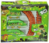 Shop & Shoppee Ben 10 Train Battery Operated (Green)