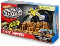 Hot Wheels Motorcycles Cycle Crusher - Yellow, Blue