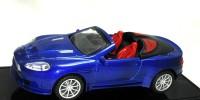 PremK Die Cast Blue Metal Car (Blue, Black)