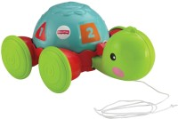 Fisher-Price Pull Along Turtle (green, Red)