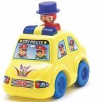 Lovely Cars, Trains & Bikes Lovely Push N Go City Police Car