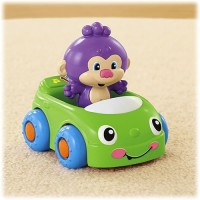 Fisher-Price Laugh & Learn Monkey's Learning Car (Multicolor)
