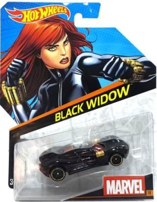 Hot Wheels Cars, Trains & Bikes Hot Wheels Marvel Black Widow