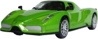 AdraxX 1:28 Scale Die Cast Future Concept Sports Car Toy Collector Model (Green)
