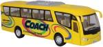 Kinsmart Die Cast Metal Cars, Trains & Bikes Kinsmart Die Cast Metal Coach Bus