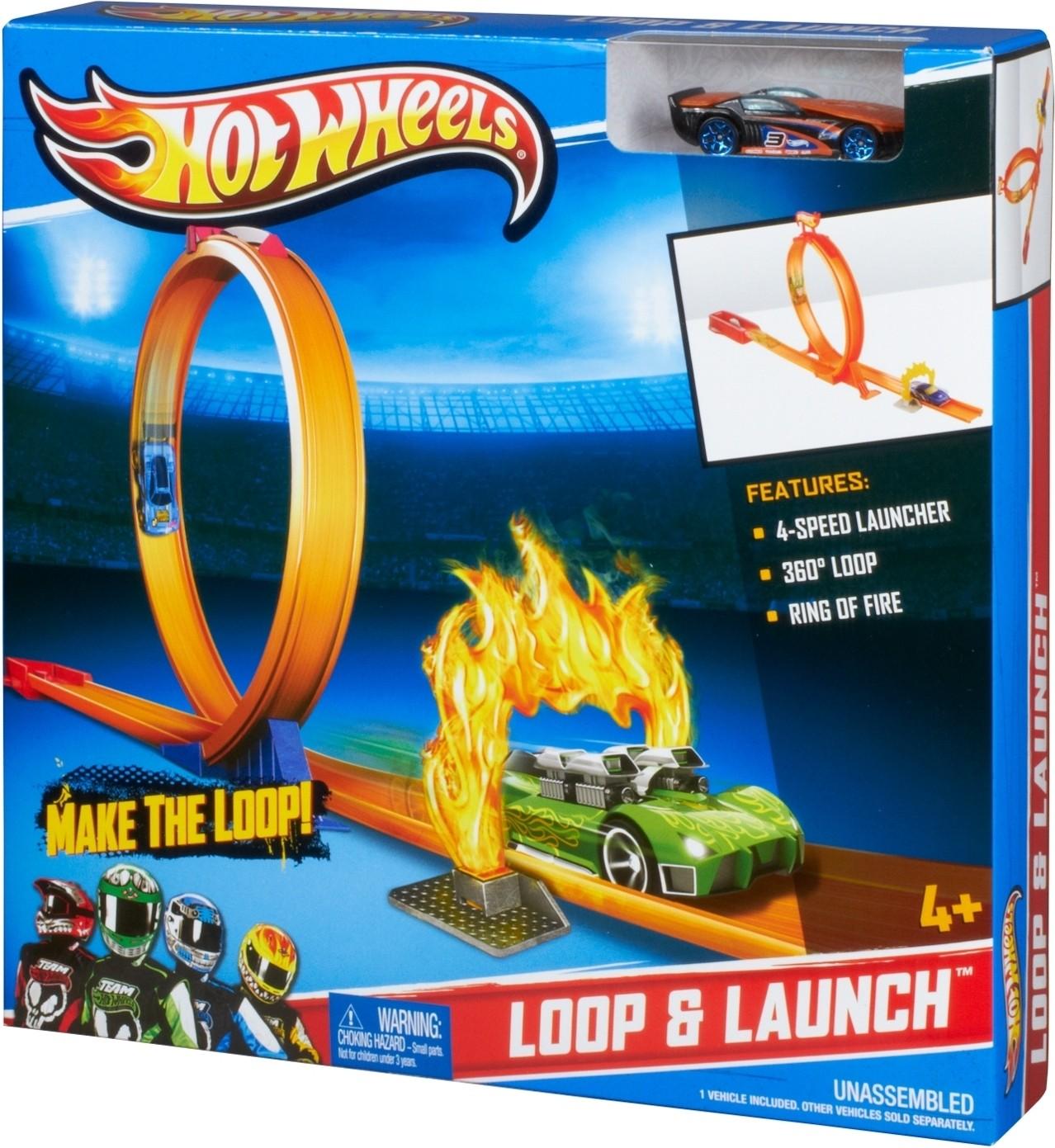 hot wheels loop launch make the loop loop launch. Black Bedroom Furniture Sets. Home Design Ideas