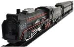 zaprap Cars, Trains & Bikes zaprap Battery Operated Black Plastic Train Set With Head Light