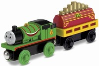 Fisher-Price Thomas Wooden Railway Percy Musical Ride (Multicolor)