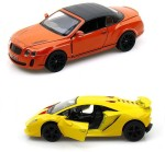 Kinsmart Cars, Trains & Bikes Kinsmart Bentley Continental and Lamborghini Sesto