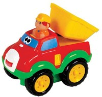 Small World Toys Preschool - Press 'N' Go Dump Truck (Multicolor)