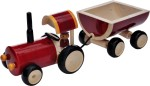 Dovetail Push & Pull Along Dovetail Push Tractor & Trolley