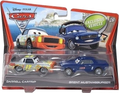 Pixar Cars Cars, Trains & Bikes Pixar Cars Darrell Cartrip and Brent Mustangburger