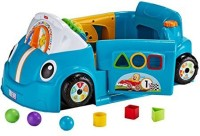 Fisher-Price Laugh & Learn Smart Stages Blue Crawl Around Car (Multicolor)