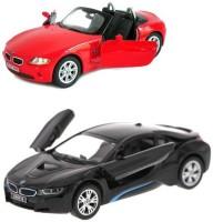 Kinsmart Kinsmart BMW I 8 And BMW Z4 Coupe (Multicolor)