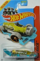 Hot Wheels 2014 Xraycers Hw Race Yellow Carbonator 172/250 (Multicolor)