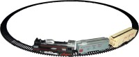 Zeemon Old Steam Simulating Front Light Engine Train Set (Black)