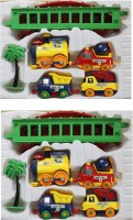 New Pinch Combo Of Play Train Set For Kids (Multicolor)