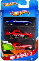 Hot Wheels Mattel K5904 Hot Wheels (3 Pack) (Colors And Designs May Vary) (Multi Color)