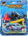 Toy Triangle Acrobat Racer Drifting Car - Blue, Red, Yellow