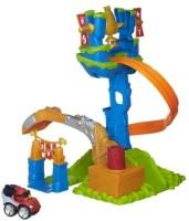 Angry Birds Playskool Heroes Go Red Bird Slingshot Slamway (Multicolor)