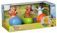 TOMY Winnie The Pooh Spin 'n' Play Acorn Train By Tomy 71861 (Multicolor)