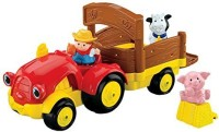 Fisher-Price Baby Little People Tow 'n Pull Tractor (Multicolor)