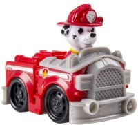 Spin Master Paw Patrol Racers, Marshall's Fire Truck Vehicle (Multicolor)
