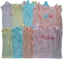 My Kid Baby Girl's Vest - Pack Of 8