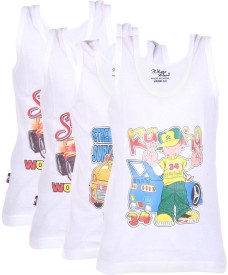 White Moon Boy's Vest