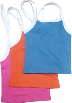 Cherish Maternity Knit Tie-Up Baby Girl's Vest Pack Of 3