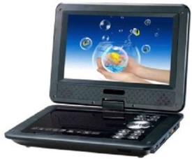 Portable 9.8 inch EVD/Video With 3D With TV Tuner Card Reader USB And Game Function DVD Player 9.8 inch DVD Player
