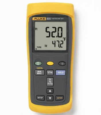 52-II 60HZ Dual Input Digital Thermometer