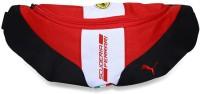 Puma Ferrari Fanwear Waist Bag Rosso Corsa-white-black