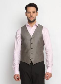 SUITLTD VT0013 Solid Men's Waistcoat